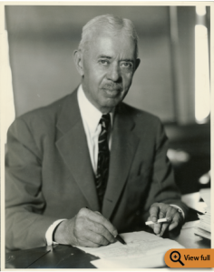 Joseph W. Bartlett, ca. 1940. Special Collections and University Archives, University of Massachusetts Amherst Libraries