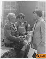 Hugh MacDiarmid, Visiting Lecturer of Scottish Poetry, 1967. Special Collections and University Archives, University of Massachusetts Amherst Libraries