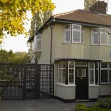 251 Menlove Avenue, John Lennon's childhood him in Woolton, Liverp;oil