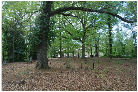 Oberlin Cemetery.  Photo by M. Ruth Little, 2012.  From RHL application, p. 4