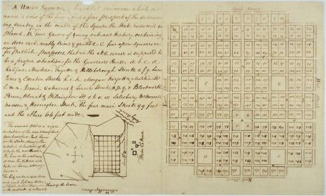 William Chrismas' Plan of Raleigh, 1792