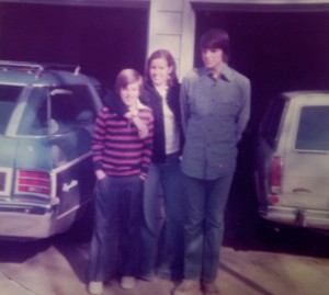 My siblings, c. 1974?