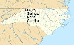 http://en.wikipedia.org/wiki/Laurel_Springs,_North_Carolina
