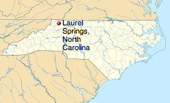 http://en.wikipedia.org/wiki/Laurel_Springs,_North_Carolina
