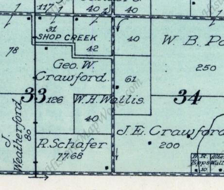 1912 Ogle Atlas of Montgomery County, Illinois: Zanesville Township