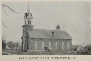 Ewing Baptist Church, Ewing, Illinois