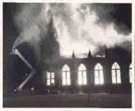 Danville VA  Moffett Mem. Baptist Church Fire 6-29-1971_tn