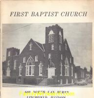 First Baptist Church Litchfield Illinois